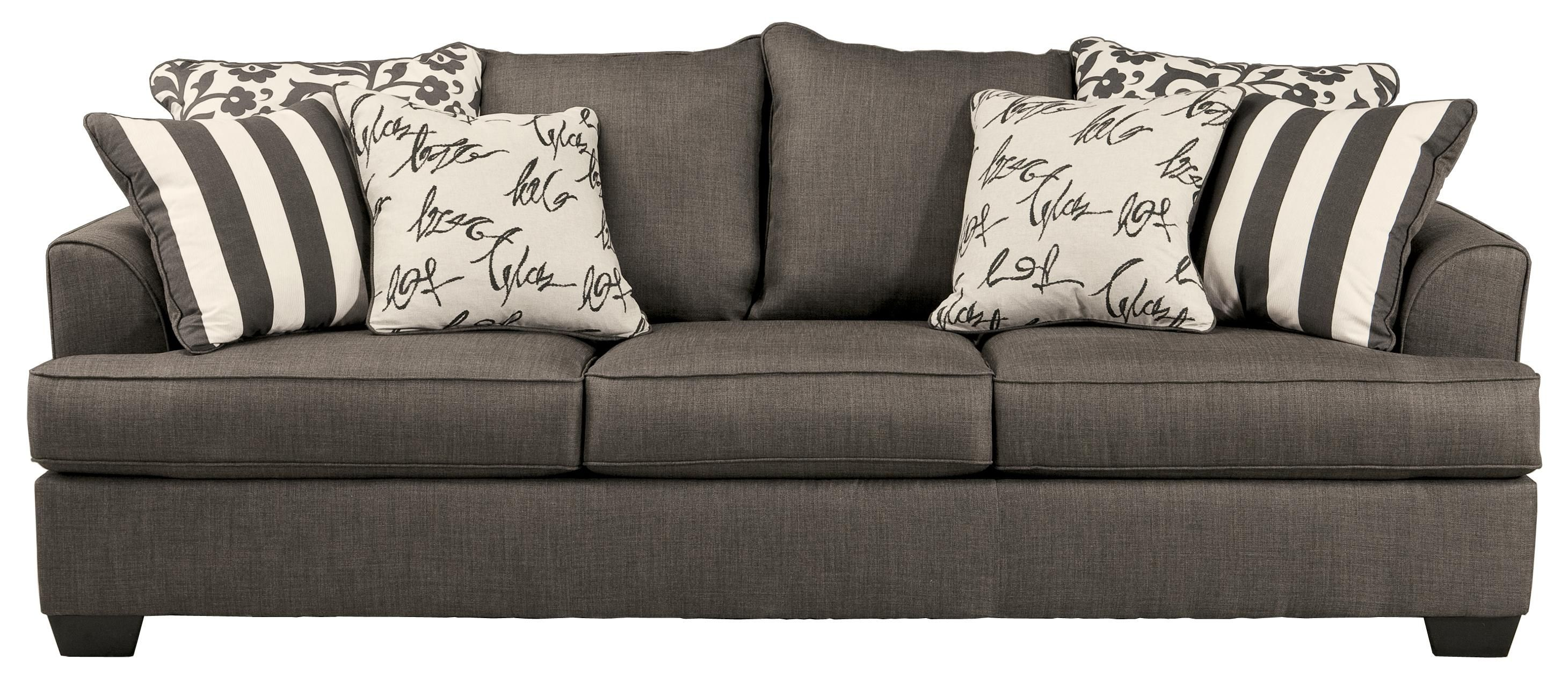 levon charcoal queen sofa sleeper with memory foam mattress by rh pinterest com