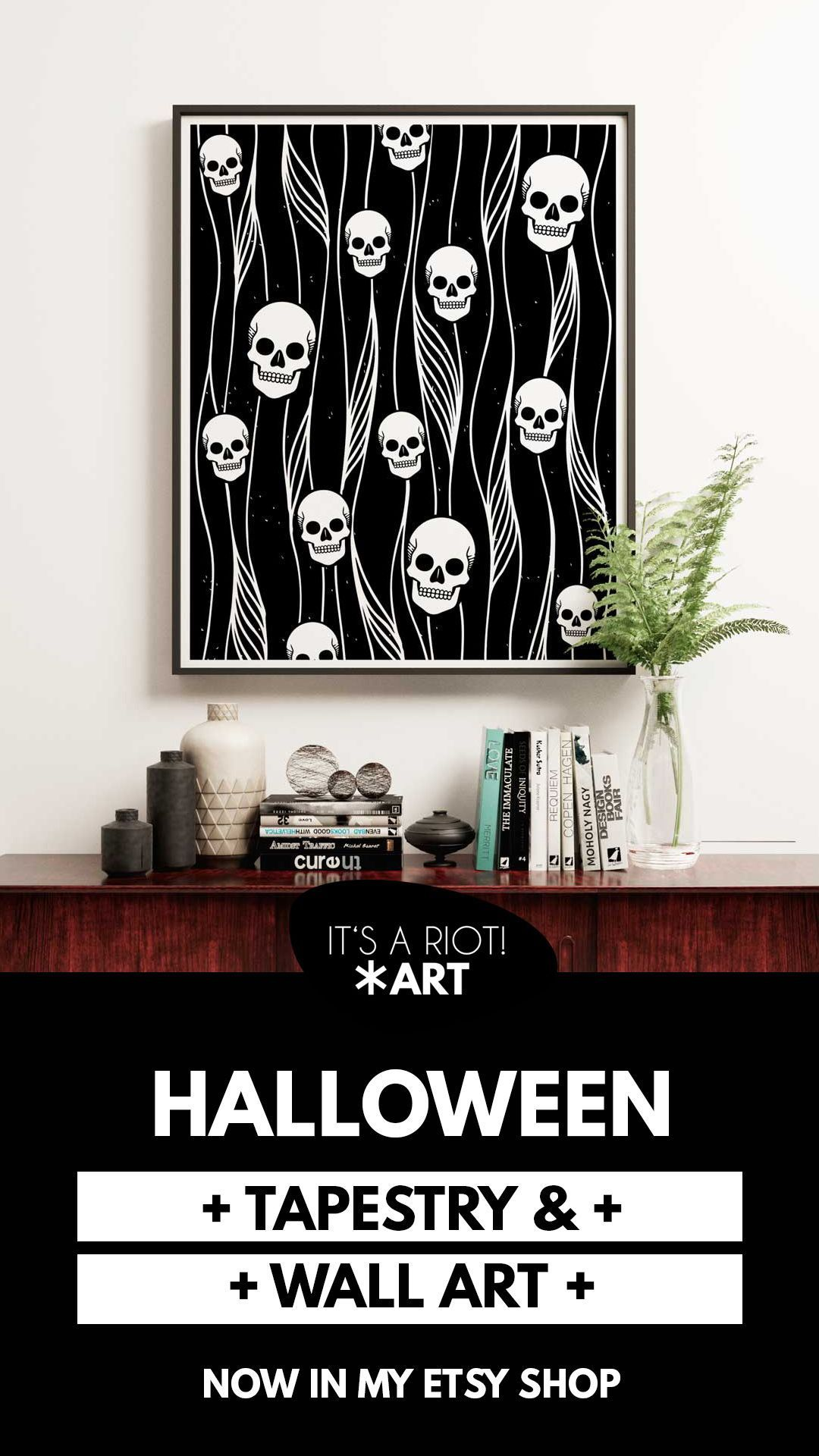 Photo of Goth • Punk • Alternative • Home Decor & Gifts by ItsARiotArt