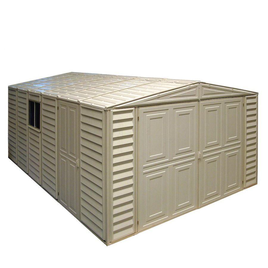 Lowe S 10x18 Shed 2400 Shed Storage Vinyl Sheds Outdoor Storage Sheds