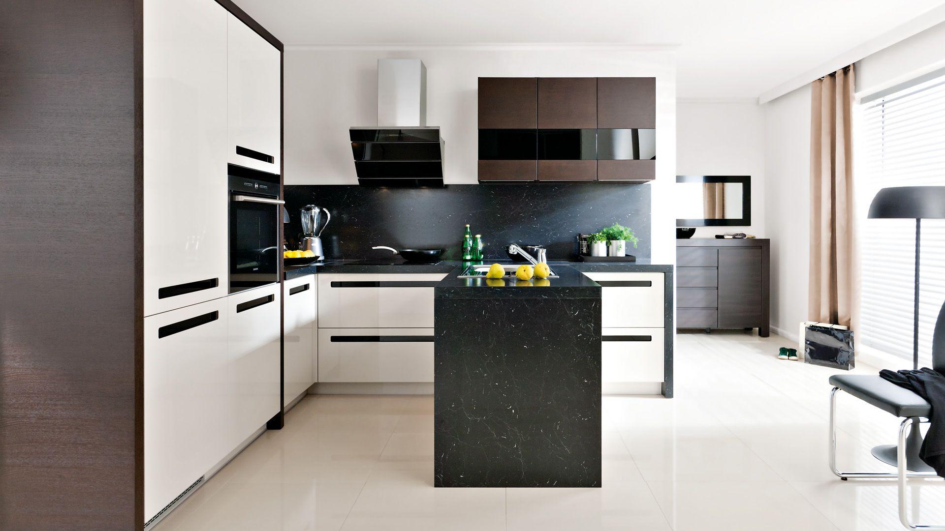 Black Red White Senso Kitchens Emotion Majo Brw
