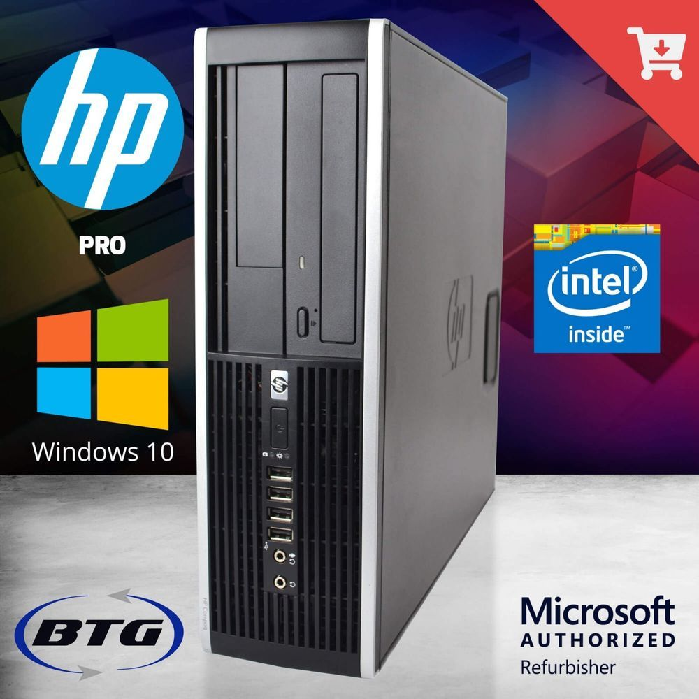 HP Desktop Computer i5 3.2GHz 16GB 2TB PC Windows 10 Pro