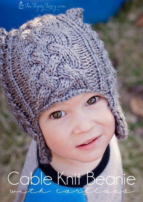 Cable knit beanie with earflaps by ashlee free knitted pattern cable knit beanie with earflaps by ashlee free knitted pattern ashleemarie more knitting inspirations pinterest beanie pattern cable knitting dt1010fo