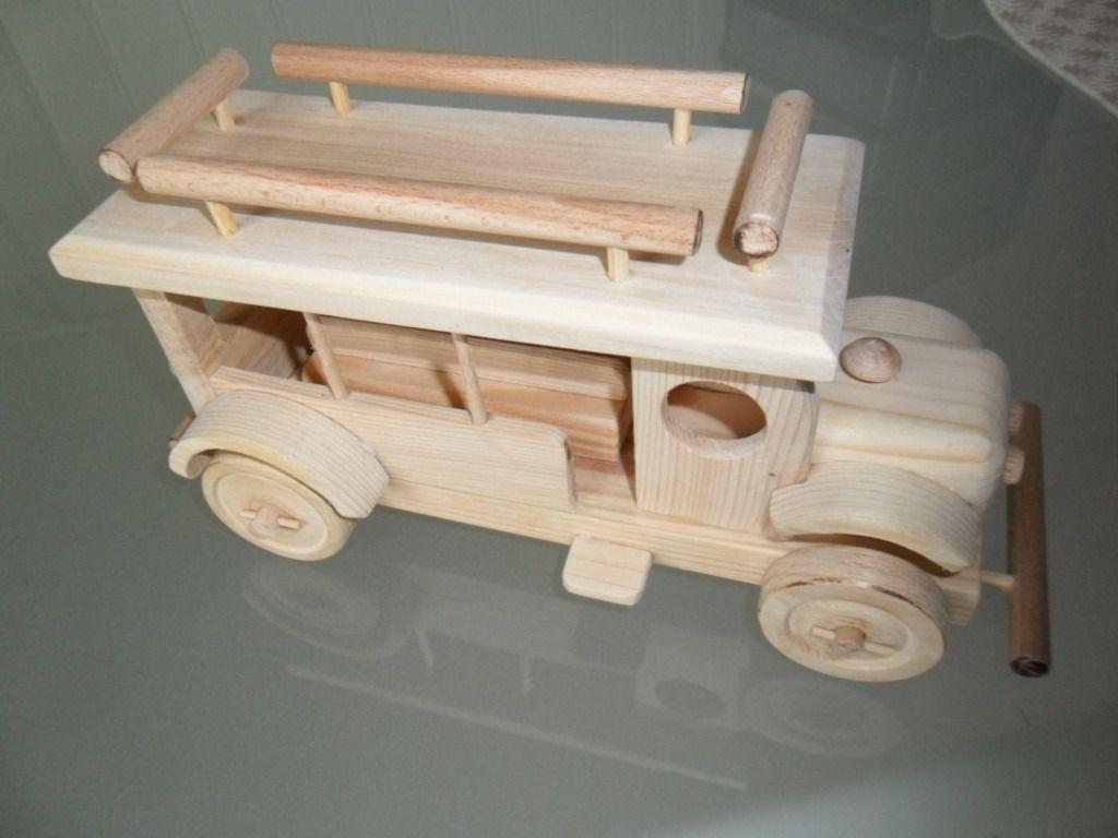 jouet bois bus ancien ouvert fabrication artisanale auto camion pinterest jouet bois. Black Bedroom Furniture Sets. Home Design Ideas