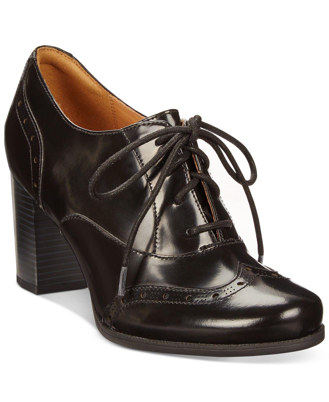 Clarks Artisan Women's Ciera Brine Oxford Shooties Boots