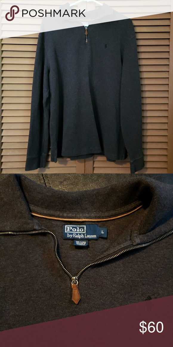8e2dcac1d Polo Ralph Lauren - Men s Dark Gray Sweater In like-new perfect condition!  Used only once. Hawaii doesn t have much