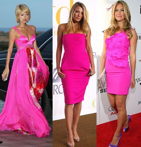 Цвет Туфлей К Розовому Платью