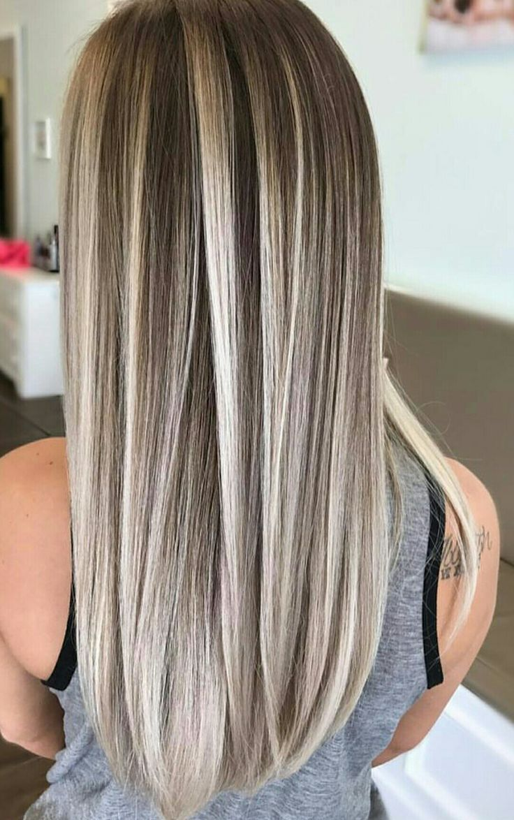 Ash Blonde Hair Ash Blonde Hair Color Highlights Pinterest