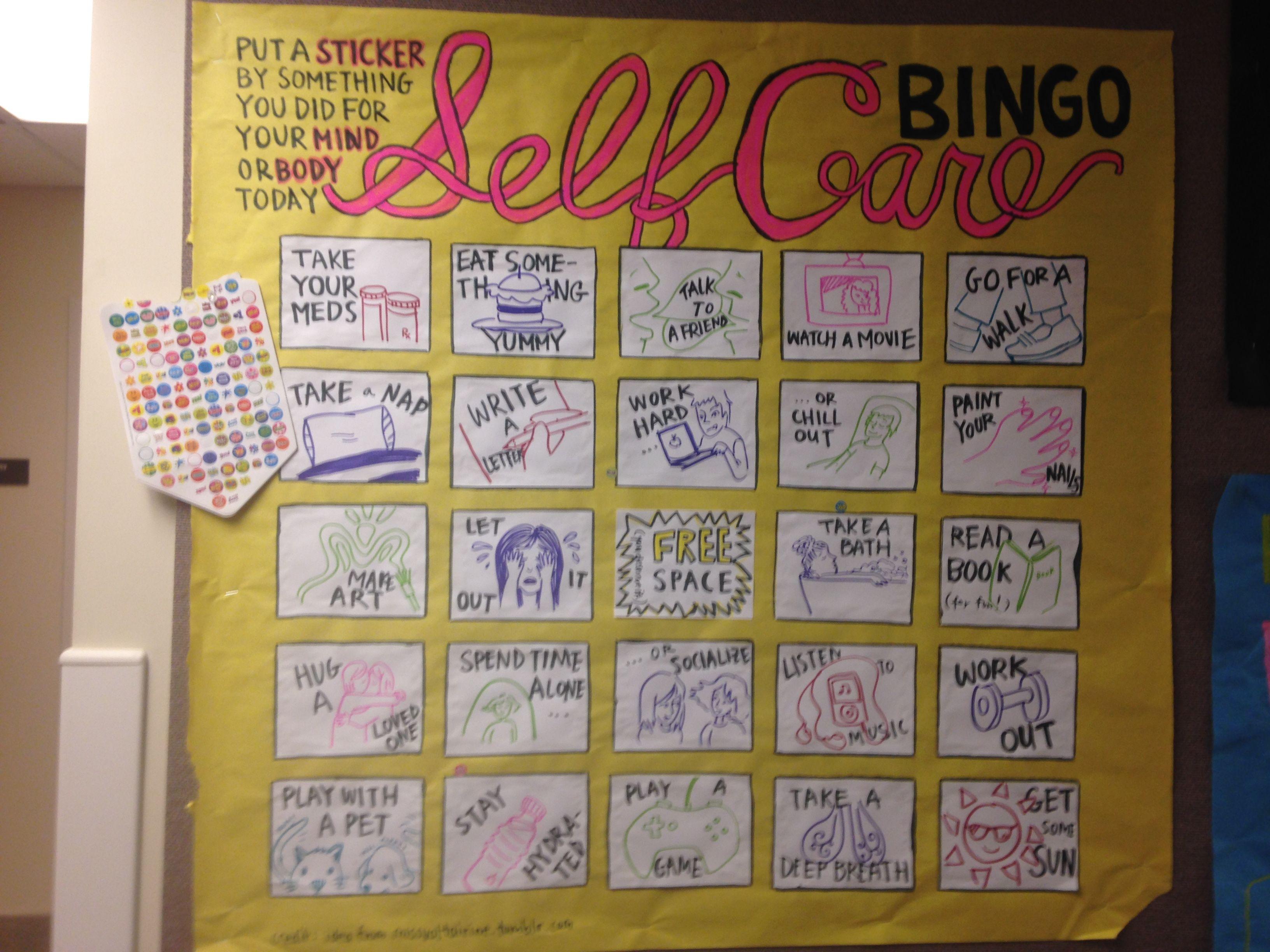 Care Bingo Health And Wellness Passive Program