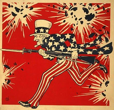 Public Domain Vintage Clip Art | Uncle Sam's birthday July