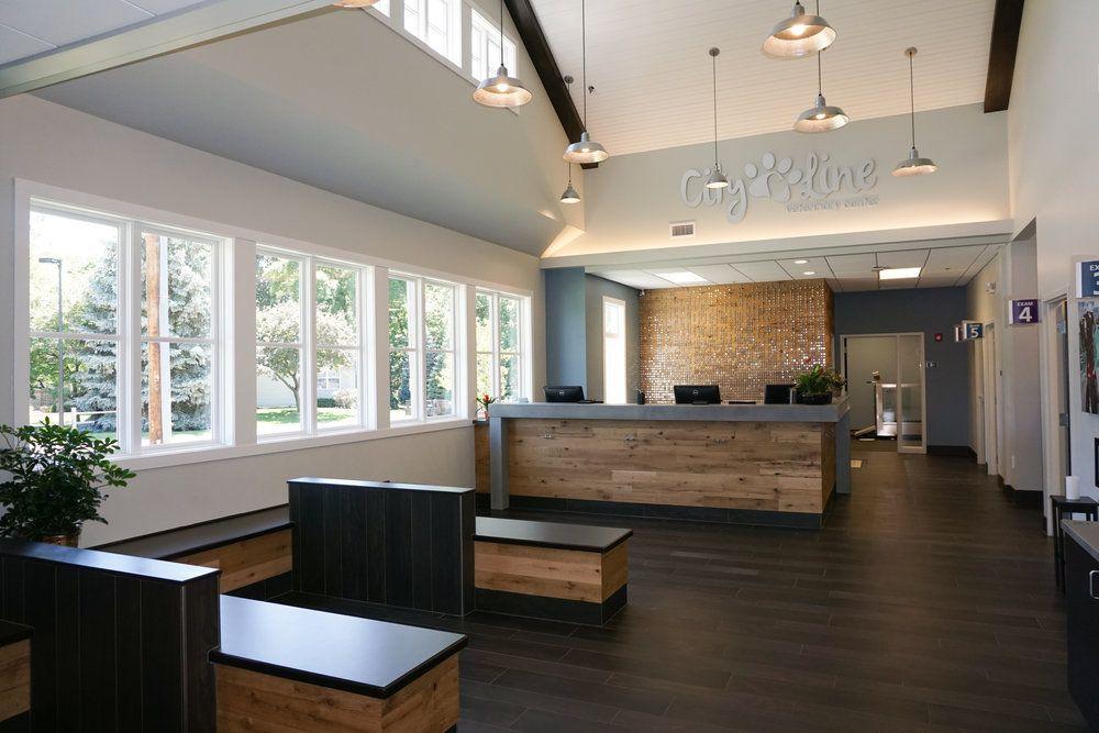 City Line Veterinary Center Moline Il Clinic Interior Design