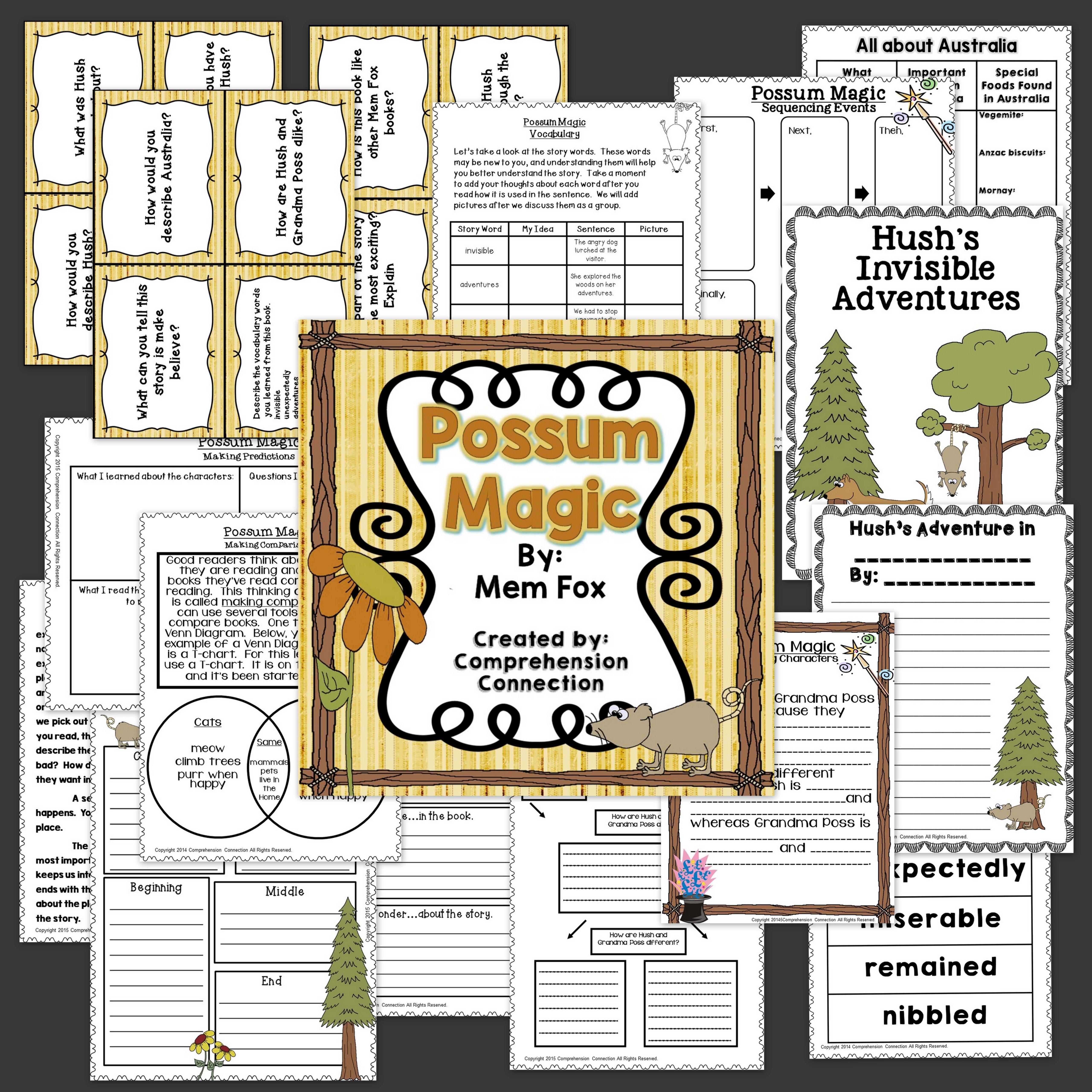 Possum Magic Activities In Digital And