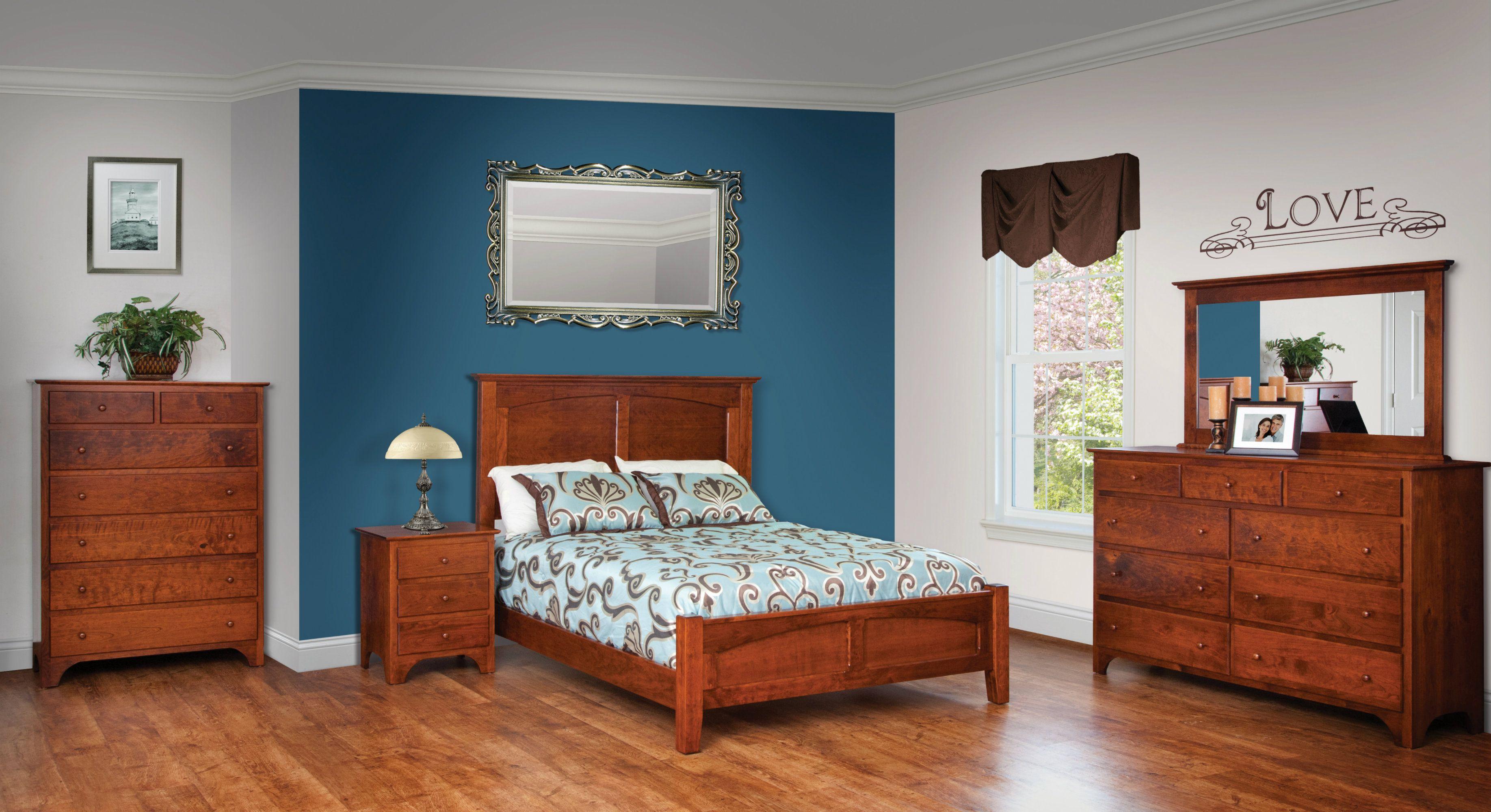 Mission Plattform Bett Schlafzimmermöbel