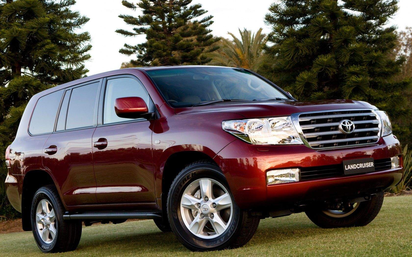 Toyota Land Cruiser 200 Cool Car Tuning Wallpapers Hd Red Aaaa