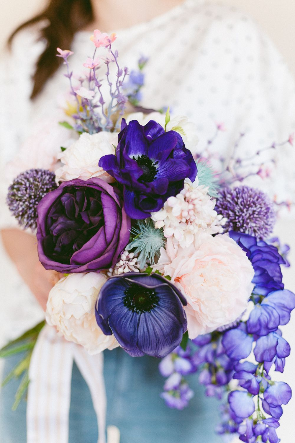 Make this Easy Ultra Violet Wedding Bouquet for Spring ...