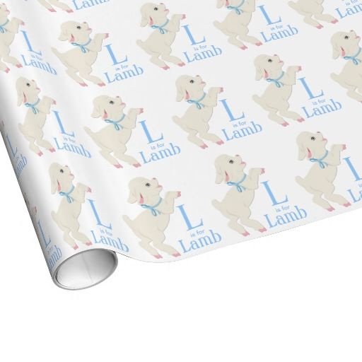 Sweet Lamb Baby Shower Wrapping Paper My Baby Shower For Baby Girl