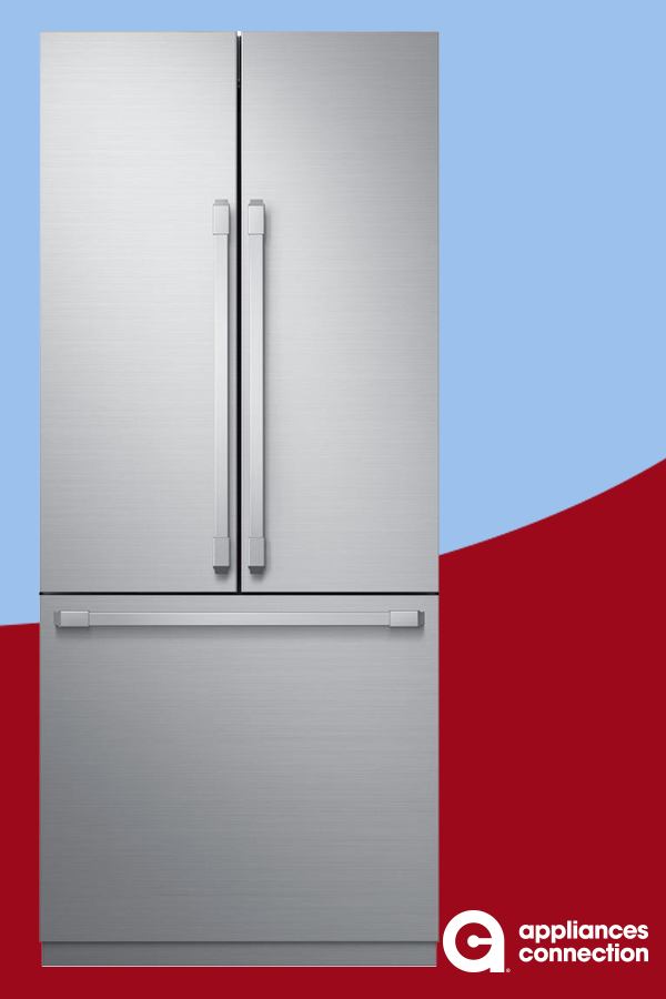 Modernist Series 36 Inch Built In French Door Refrigerator From Dacor With 21 3 Cu Ft Total Capacity Glass Shelves 6 Glass Shelves Kitchen Appliances Dacor