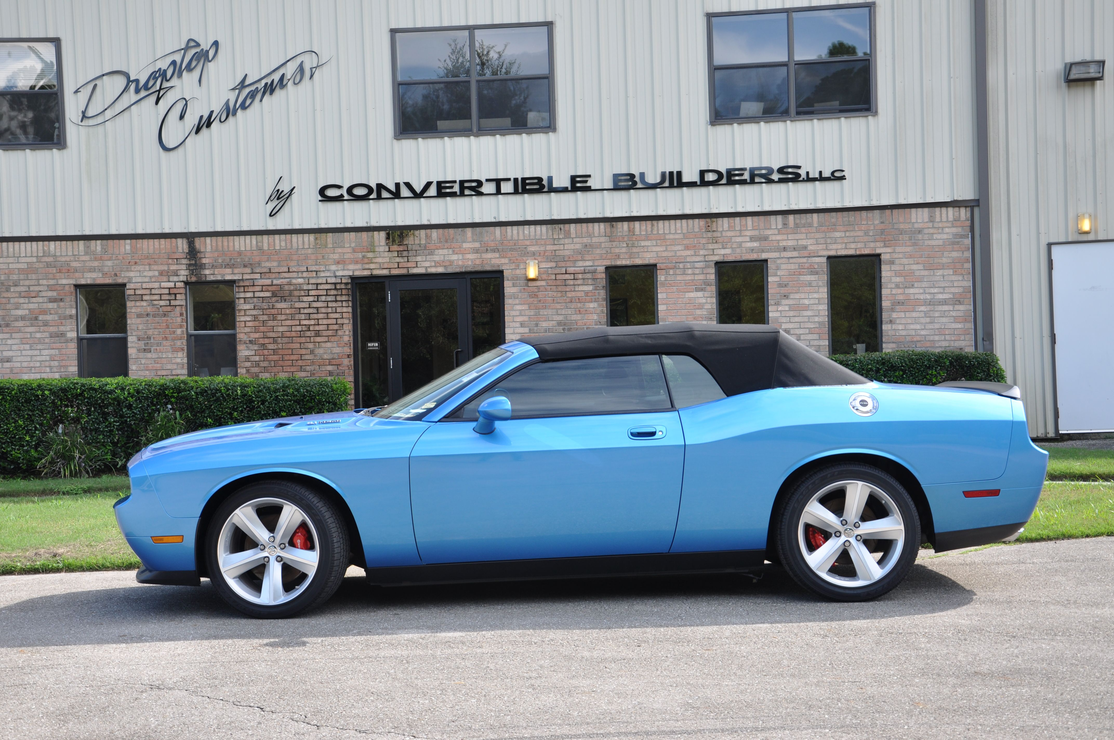 Dodge Challenger Convertible >> Blue Dodge Challenger Convertible Dodge Challenger