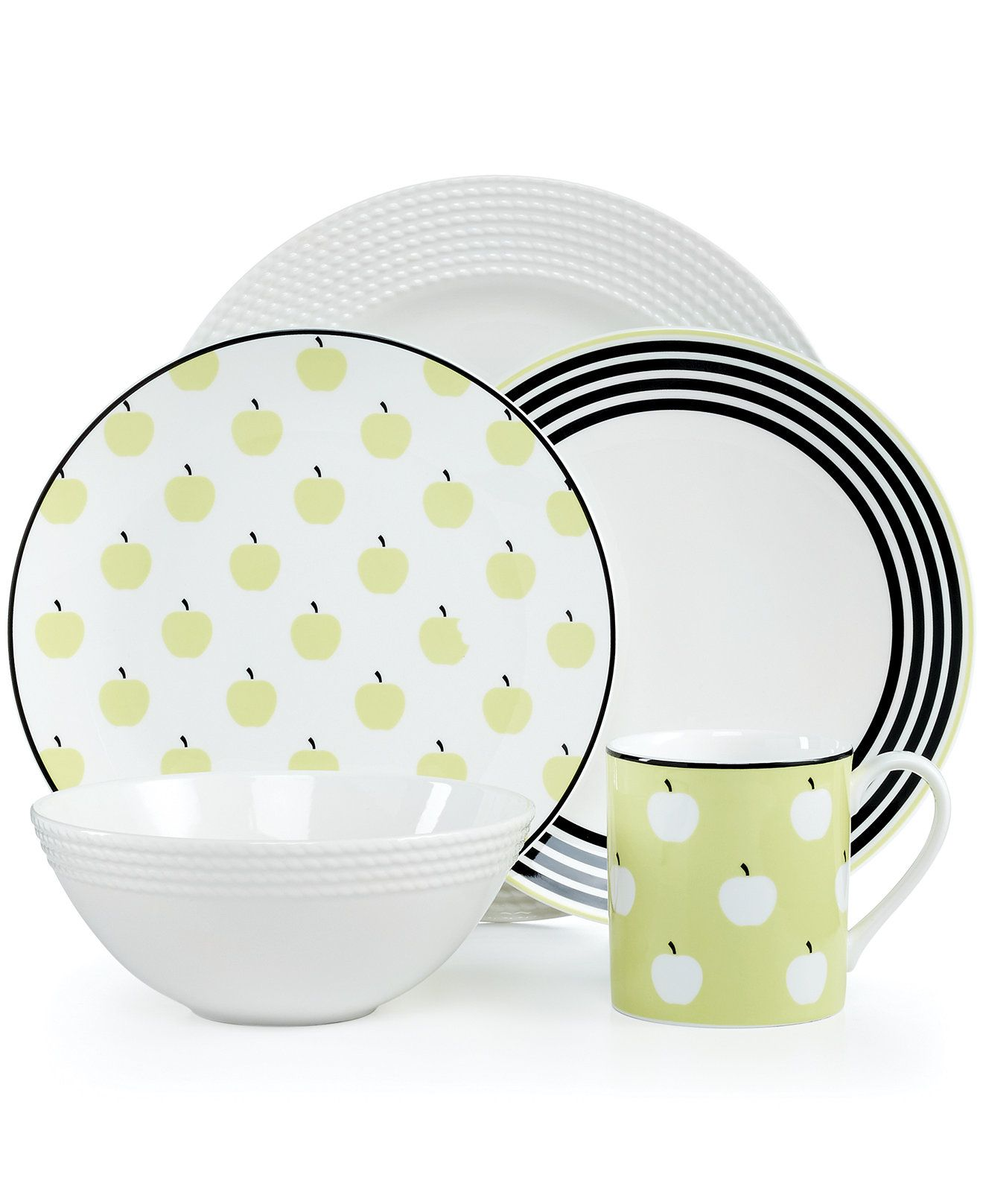 kate spade new york Dinnerware Wickford Dinnerware Collection  sc 1 st  Pinterest & kate spade new york Dinnerware Wickford Dinnerware Collection ...