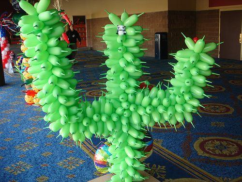 Cactus Twist Balloon Twist This Pinterest Western