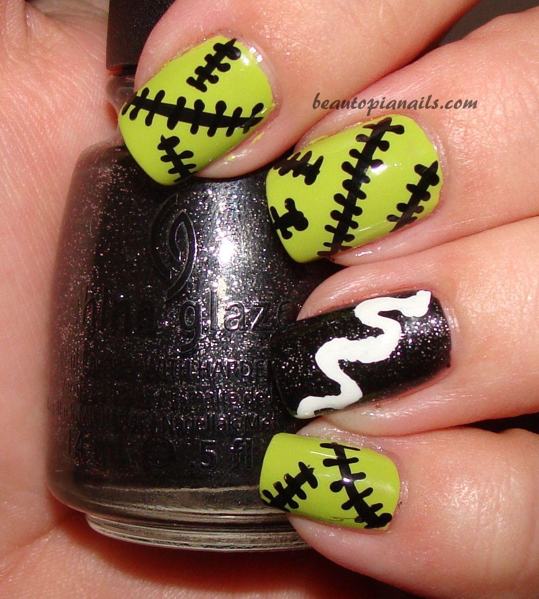 frankenstein nails - Google Search - Frankenstein Nails - Google Search Nails Nails Nails Pinterest