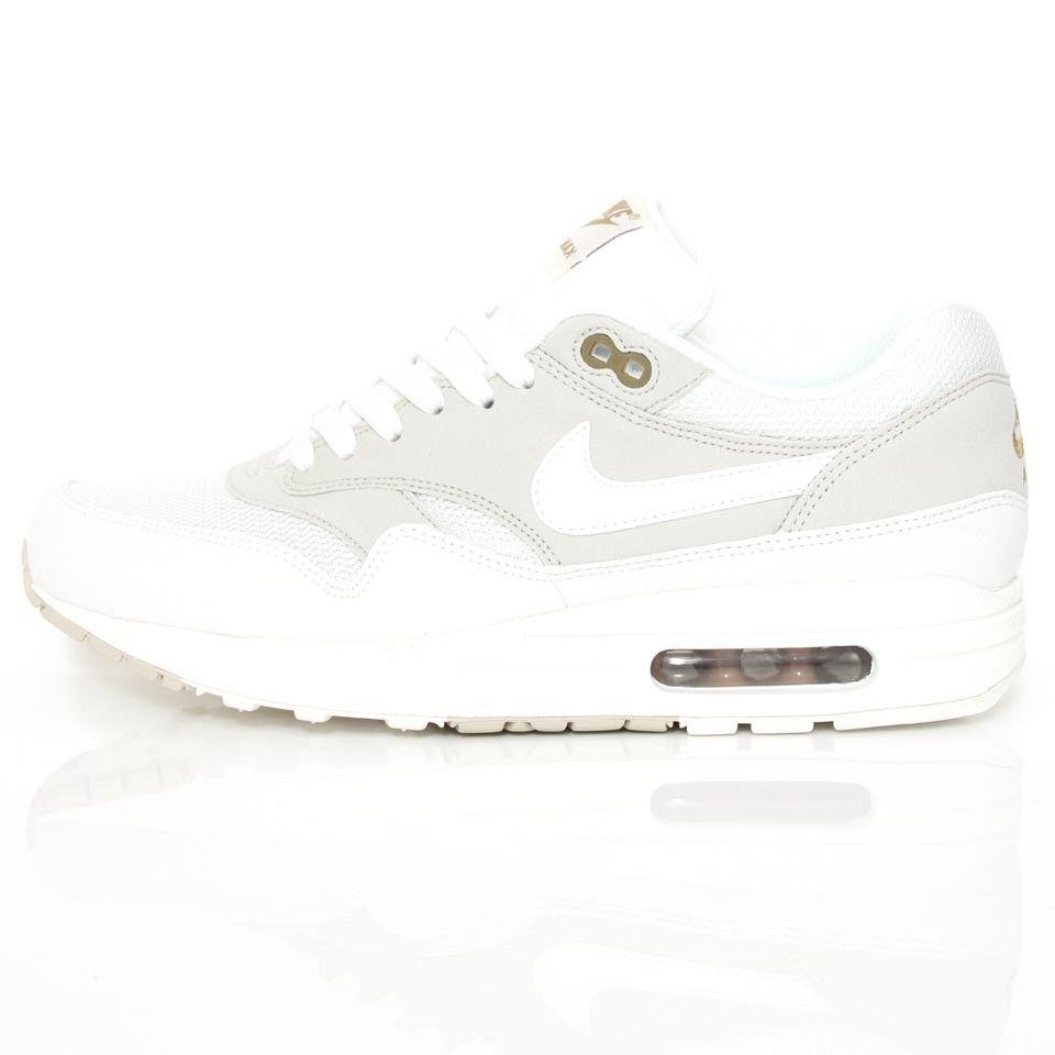 Nike 308866 Air Max 1 Luz Blanco Hueso  Cumbre 308866 Nike 035 @ Wellgosh Zapatos 81850c