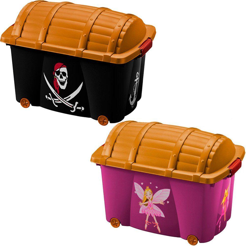 Spielzeugkiste Aufbewahrungsbox Schatzkiste Spielkiste Container