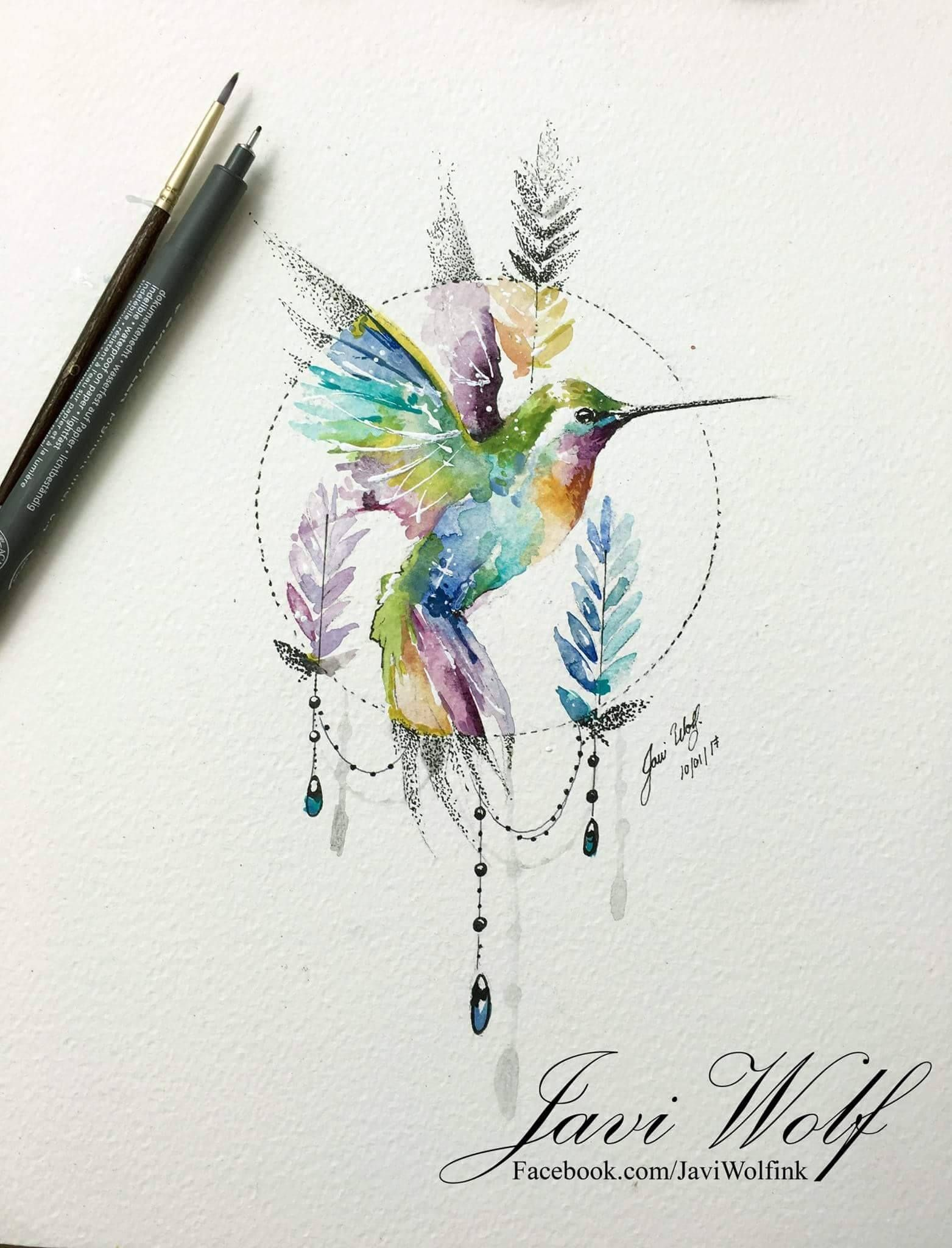 Love The Colours In This Rysunki Pinterest Tattoos