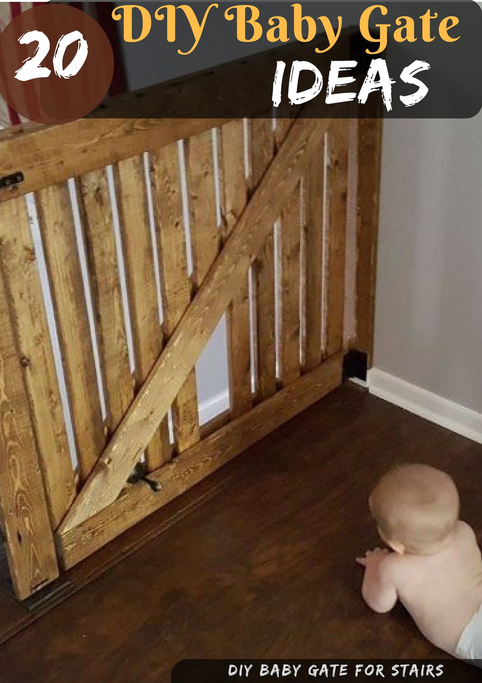 Diy Baby Gate Ideas For Stairs And Hallway Sew Fabric Gates Retractable Gates Cheap Pallet Wood Pvc And Fram Diy Baby Gate Diy Baby Stuff Summer Room Decor