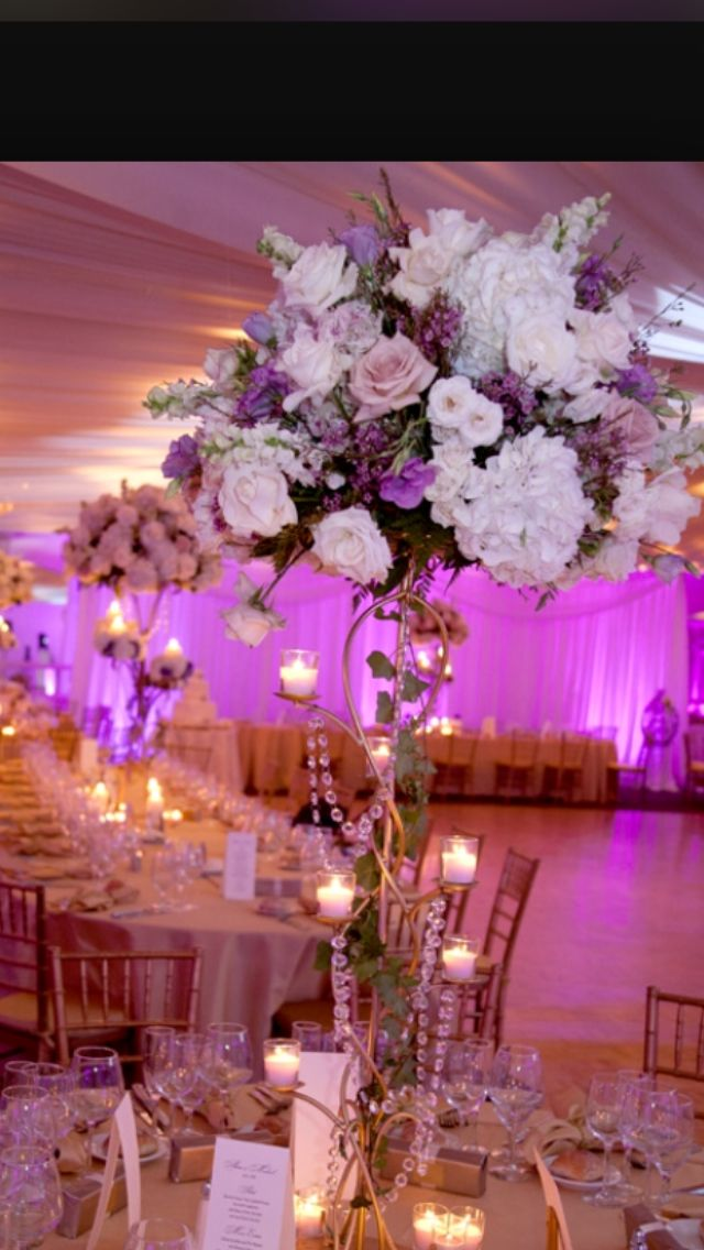 High floral arrangements