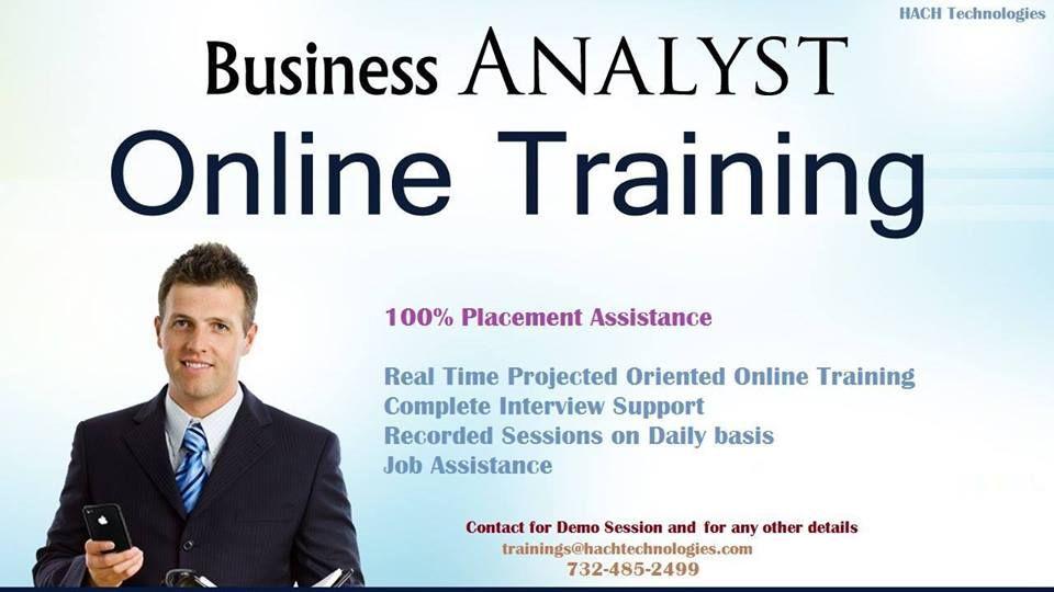 Business analyst online training business analyst