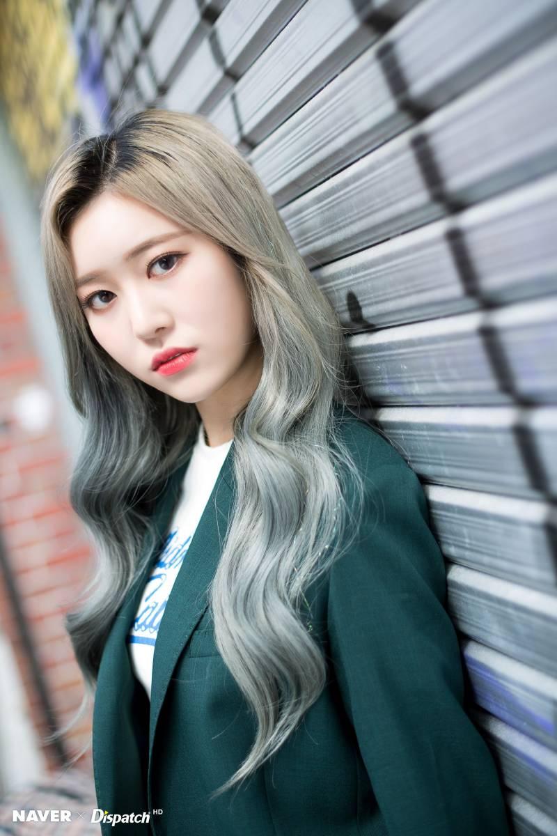Momoland Jane I M So Hot Japan Promotion Photoshoot Naver X Dispatch Strawberry Hair Asian Beauty Beauty