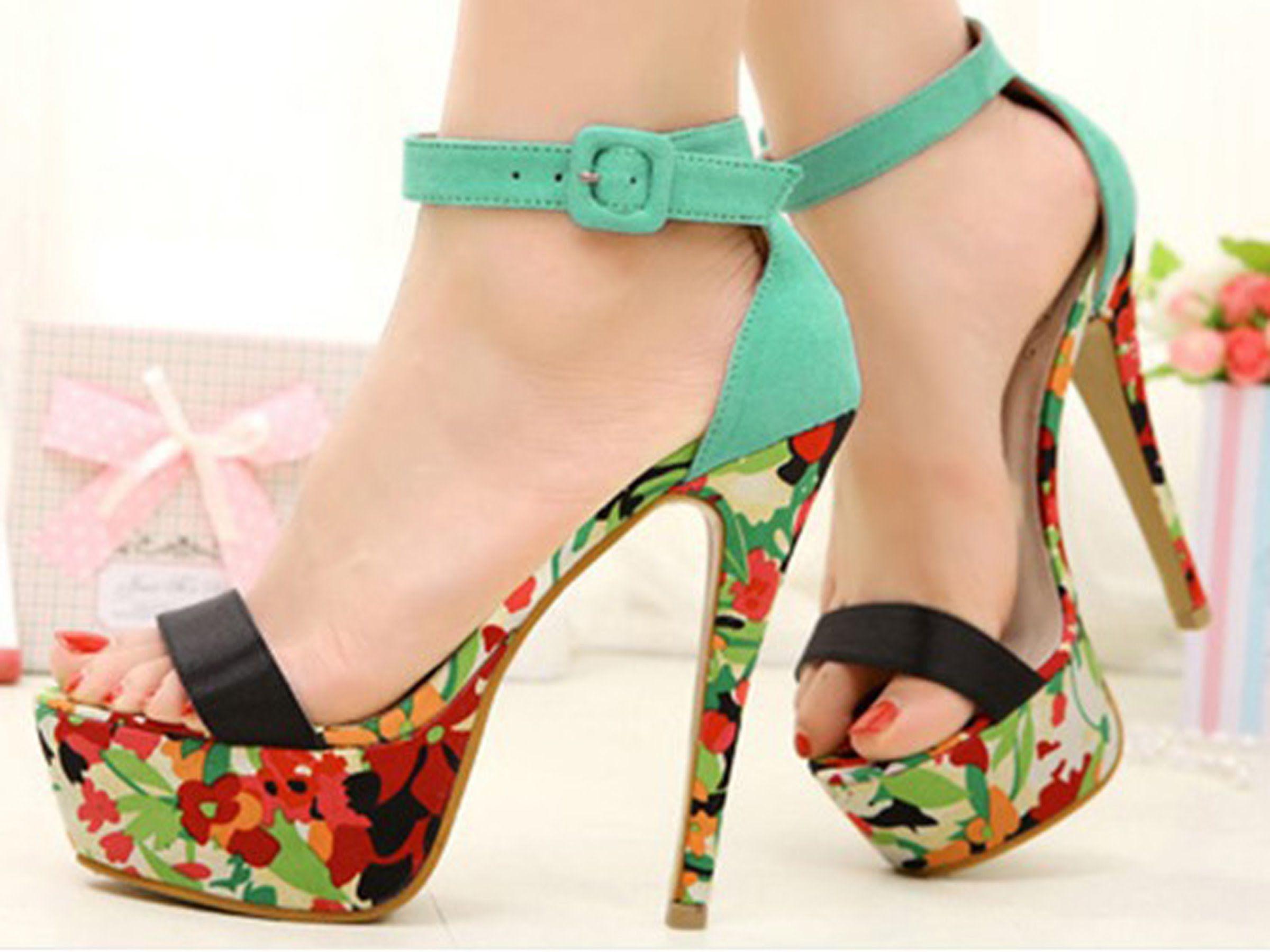 high heel women new Asian fashion shoes 2015 01 - YouTube | High ...