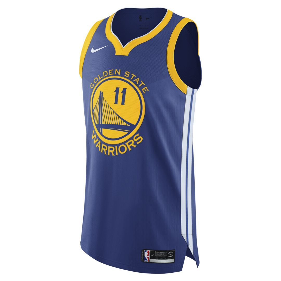 on sale 53c33 82f94 Klay Thompson Icon Edition Authentic (Golden State Warriors ...