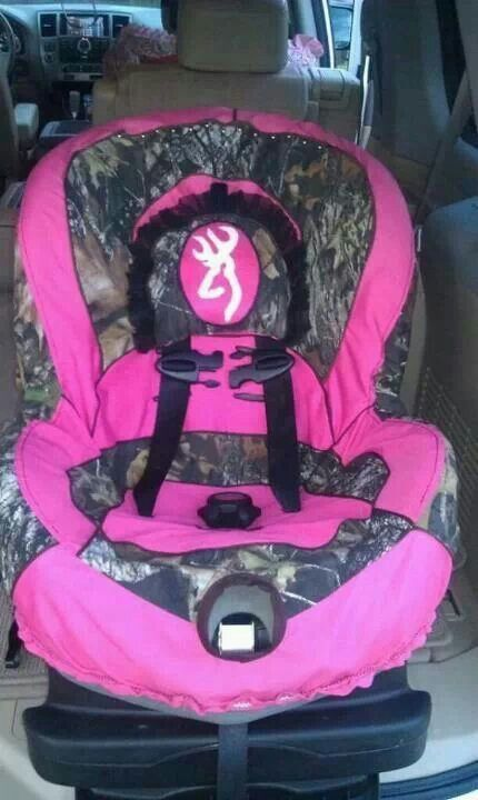 880f31945baaf5 Pink Camouflage car seat | Baby stuff | Baby, Camo baby stuff, Baby ...