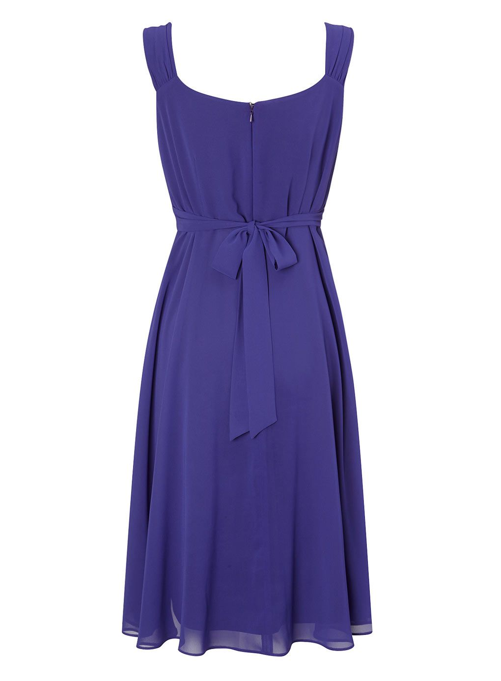 Blue Chiffon Embellished Dress - dresses - Women - BHS | Bridesmaid ...