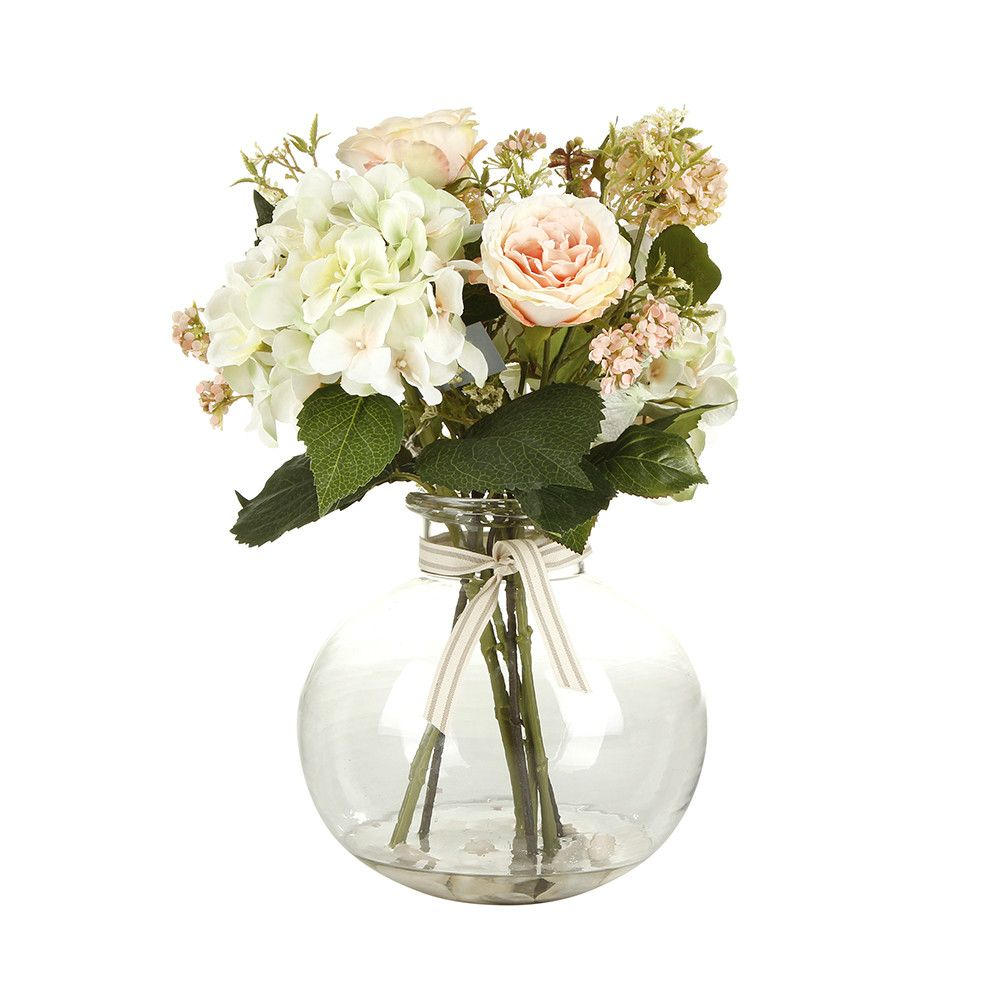 Discover The Paper Whites Roses Hydrangea Artificial Flowers And