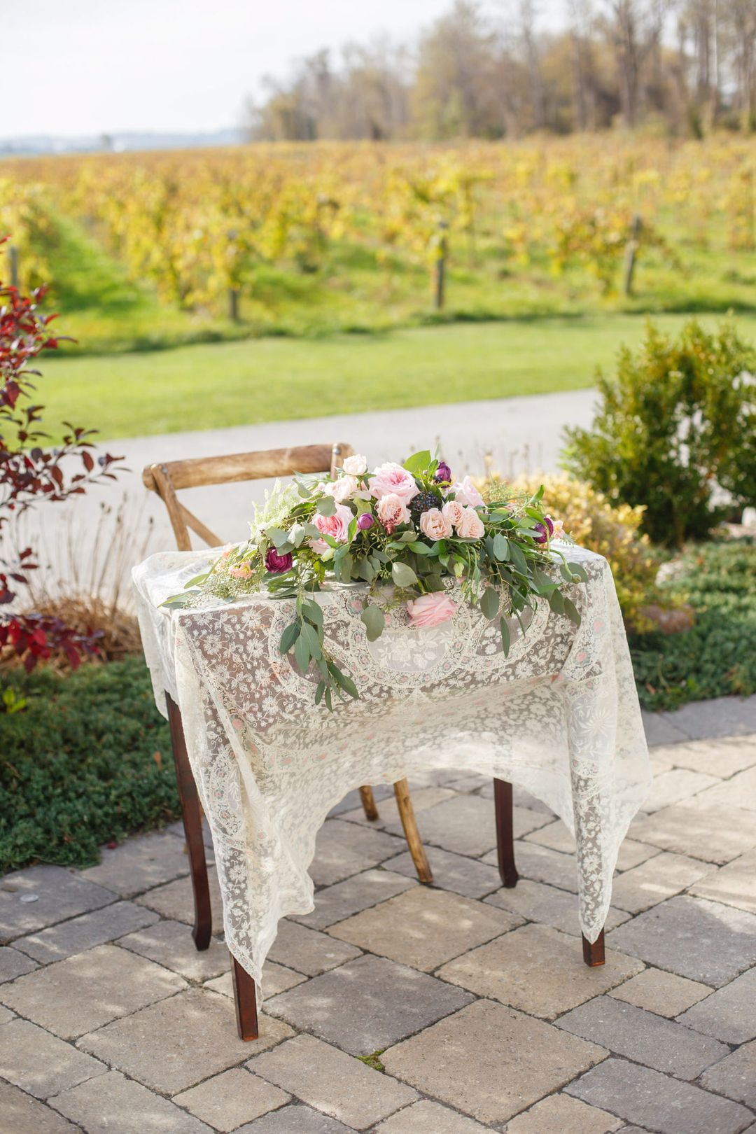 Rustic Signing Table For Andrea Dennis Vineyard Patio Ceremony October 21 2017 Signing Table Wedding Ceremony Signing Table Wedding Ceremony Signing Table