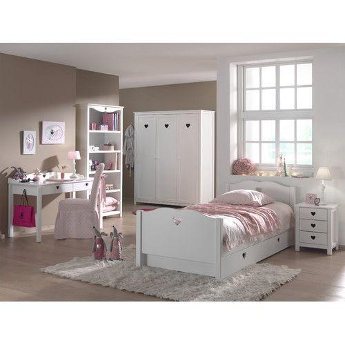 Gefunden bei Wayfairde - 6-tlg Schlafzimmer-Set Amori, 90 x 200 - baby schlafzimmer set