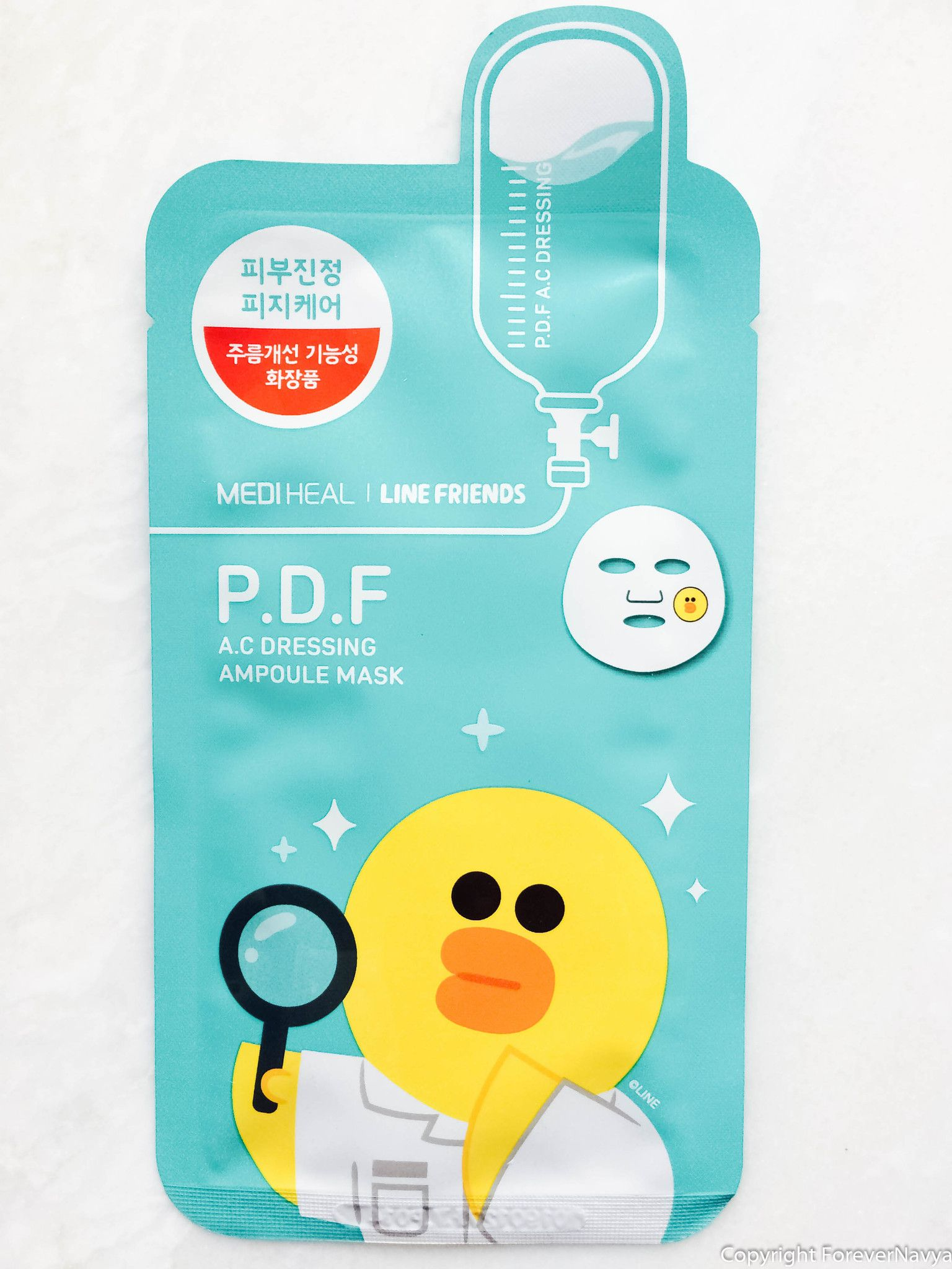 Mediheal Line Friends Pdf Ac Dressing Maskk By Siz Pinterest Ampoule Mask