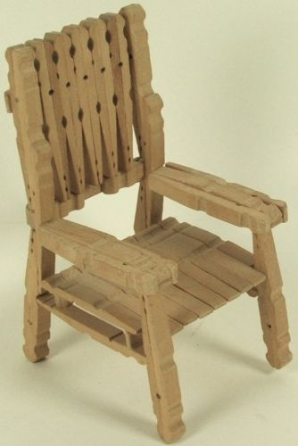 Clothespin Chair My Neighbor Made Me One And I Used It