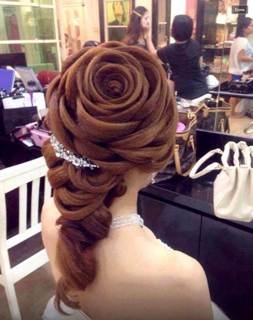 13 Epic Wedding Hair Fails Hair Styles Rose Hair Cool Hairstyles