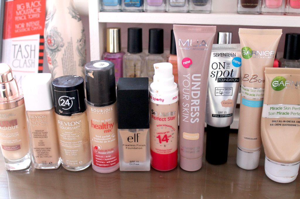 Top 10 Drugstore Foundations Hair And Beauty Drugstore
