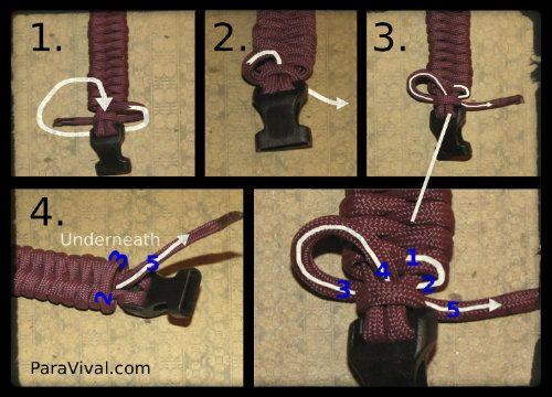 Fishtail Tutorial Step 8 Finishing The Bracelet Rainbow Loom