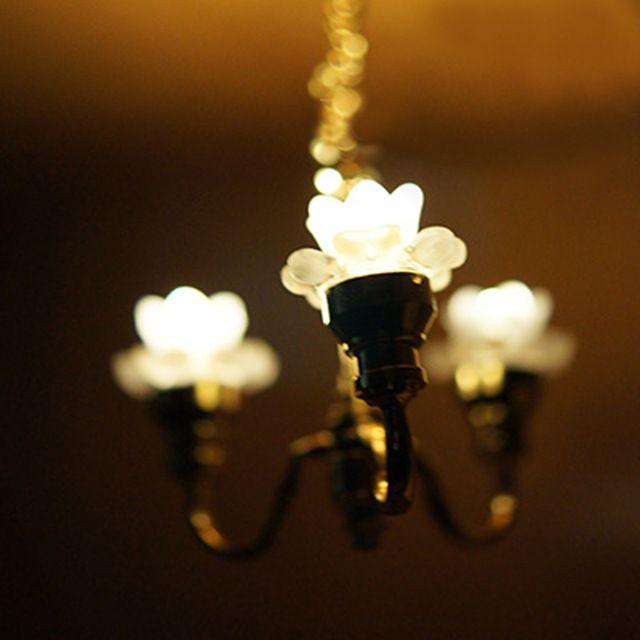 Casa De Muñecas Iluminación Luz de Techo LT6028