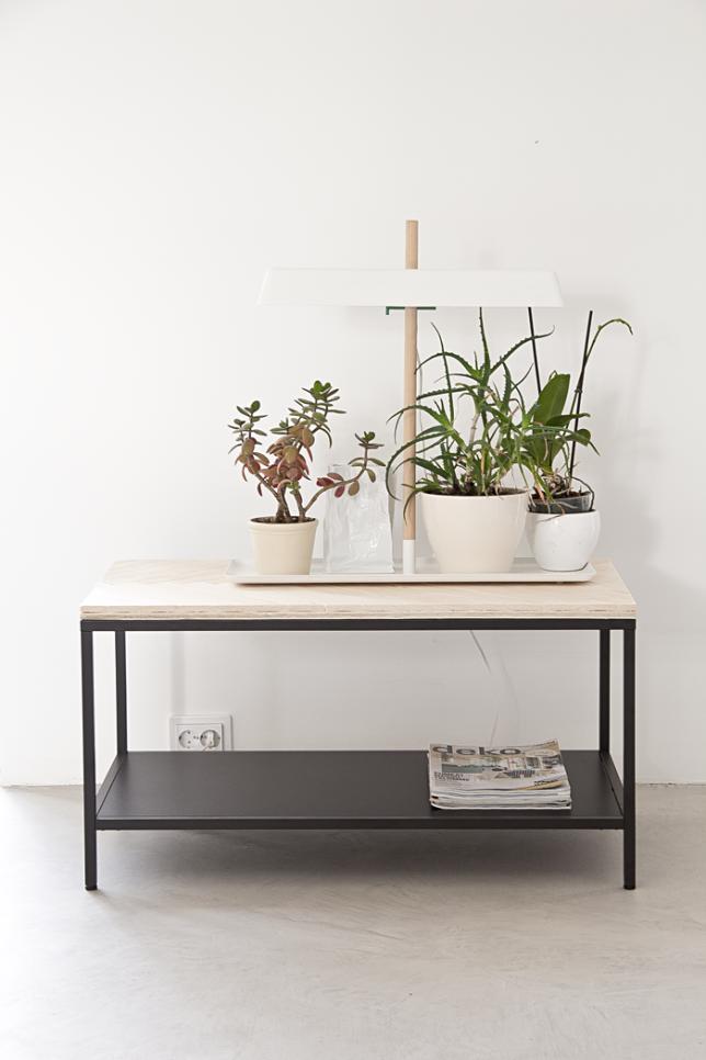 Mesa de centro industrial DIY | (DIY)Furniture | Pinterest | Mesas ...