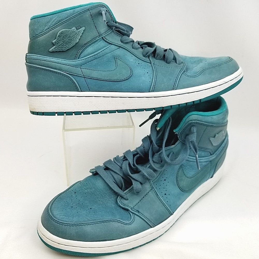 9fba644d4fb0 Nike Air Jordan 1 One Nightshade Teal Suede Retro Anti Gravity Machine 12.5  Mid  Nike  BasketballShoes