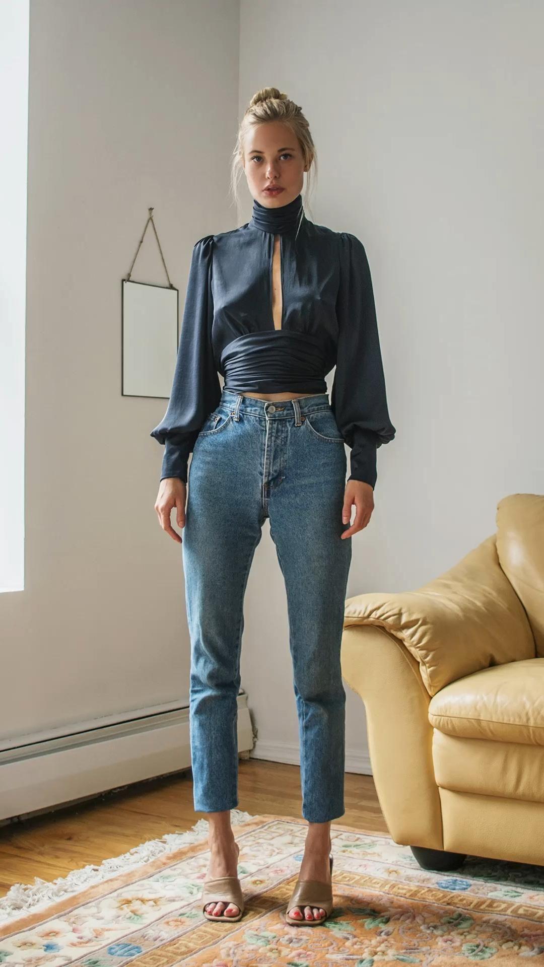 Ladies casual elegant blouses and tops