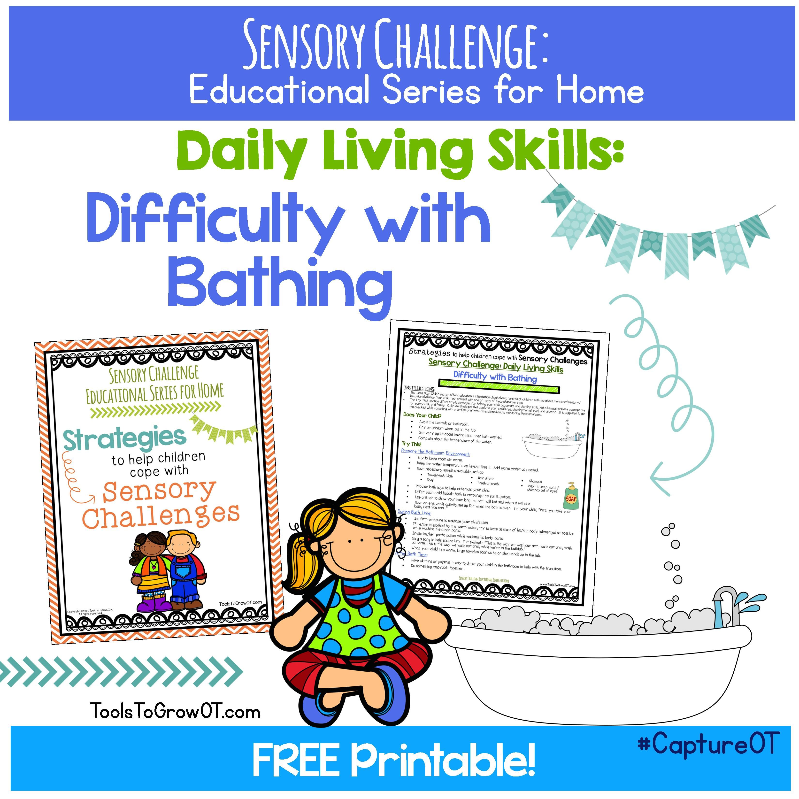 Free Resource Tips And Strategies For Daily Living Skills