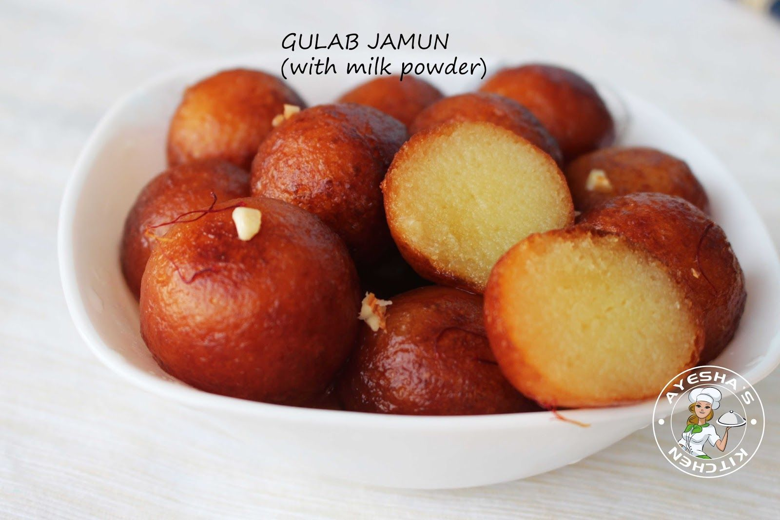 Gulab Jamun Recipe Eggless Gulab Jamun With Milkpowder Homemade Gulab Jamun Recipe Ayesha S Kitchen Jamun Recipe Milk Powder Recipe Gulab Jamun