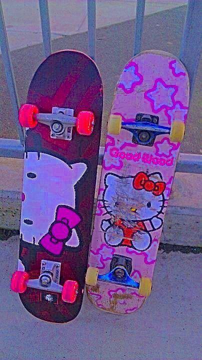 Hello Kitty Indie Skateboards
